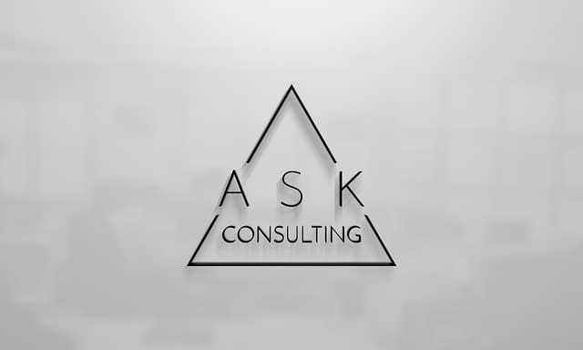 ASK Consulting Logo Design