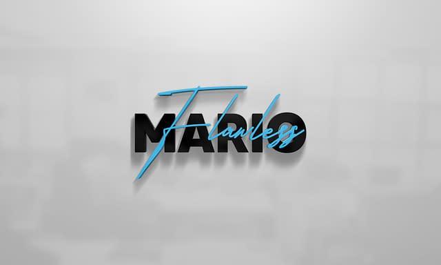 Mario Flawless Logo Design