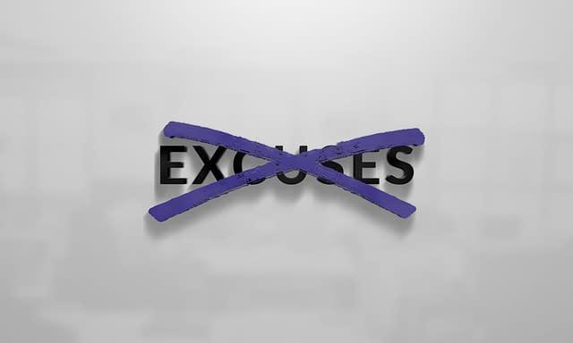 No Excuses VIP Logo Design
