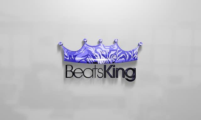 Beats King Logo Design