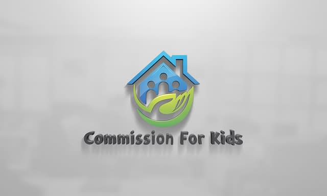 Commission For Kids Logo Design
